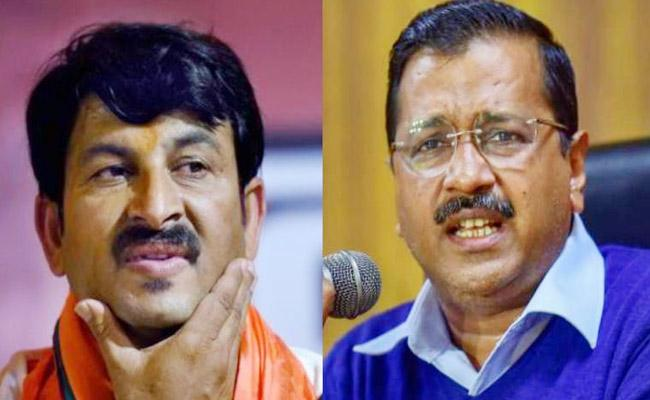 Manoj Tiwari Slams Arvind Kejriwal Over His Naachne Wala Comments - Sakshi