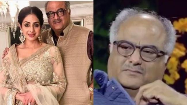 Boney Kapoor Breaks Down While Talking About Sridevi - Sakshi