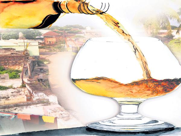 Alcohol Selling With Higher Price In AP - Sakshi