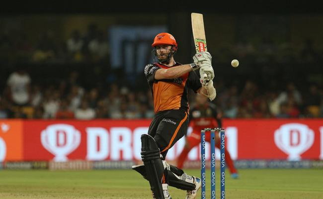 SRH Set Target of 176 Runs Against RCB - Sakshi
