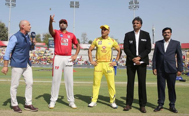 Kings Punjab Won The Toss And Elected To Field Against CSK - Sakshi
