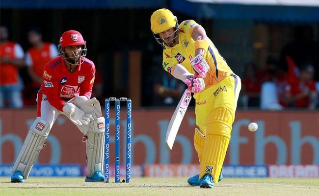 Du Plessis  Raina fifties help CSK to 170 Against Kings Punjab - Sakshi
