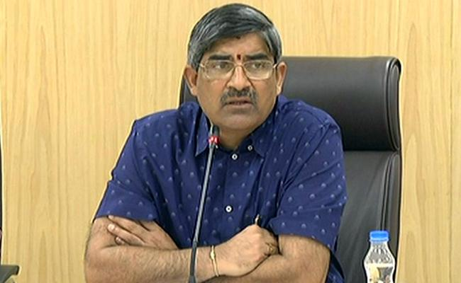 Review meet by AP CS LV subhramanyam on Heatwave - Sakshi