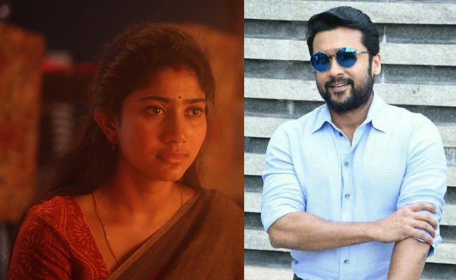 Suriya Reveals Reason Behind Sai Pallavi Crying During Shooting - Sakshi