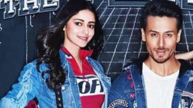 Ananya Pandey Opens Up About Her Kissing Scene With Tiger Shroff - Sakshi