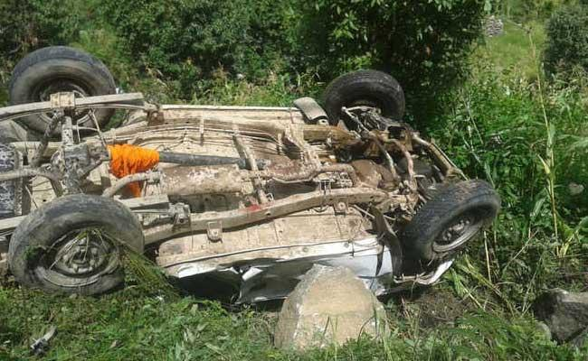 Five BJP Workers Dead In Car Accident At Himachal Pradesh - Sakshi