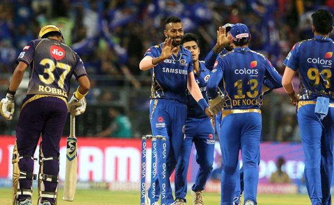 KKR Set Target of 134 Runs Against Mumbai Indians - Sakshi
