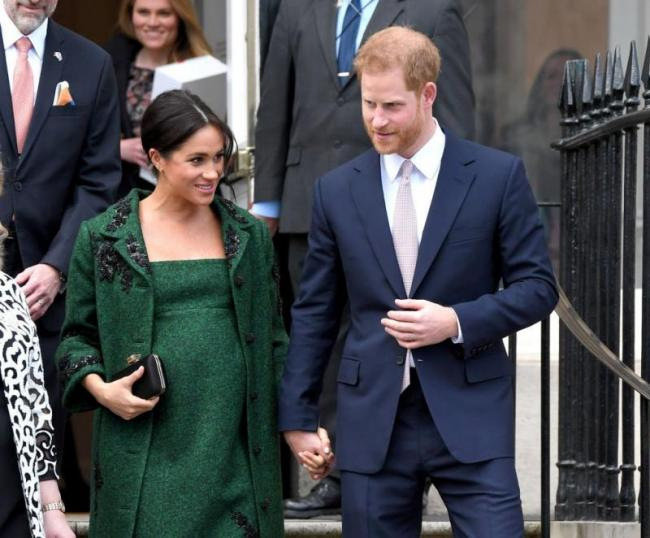 Meghan the Duchess of Sussex Goes into Labor - Sakshi
