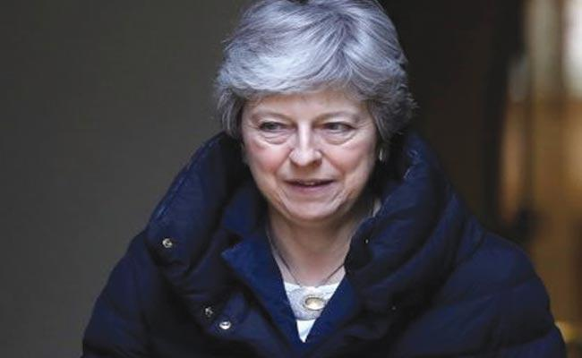 Theresa May Urges Labour Party Over Brexit - Sakshi