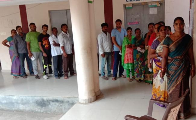 ZPTC MPTC Election polling Started in Telangana - Sakshi