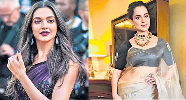 Deepika Padukone replace Kangana Ranaut in Anurag Basu new movie - Sakshi
