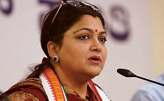 Kushboo Sundar Satirical Comments On Tamilisai - Sakshi