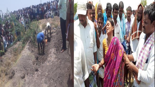 Young Man Brutal  Murder In Mahabubnagar - Sakshi
