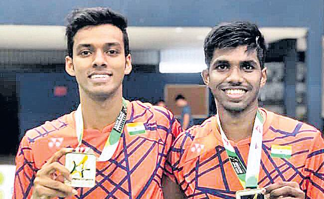Satwik and Chirag Shetty make winning return with Brazil International Challenge title - Sakshi