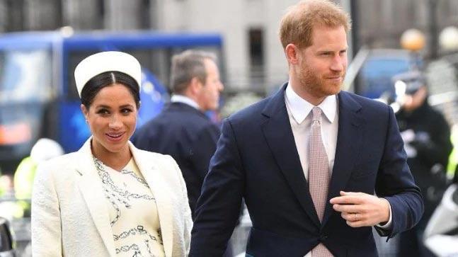 British Royals Meghan Markle, Prince Harry Welcome Baby Boy - Sakshi