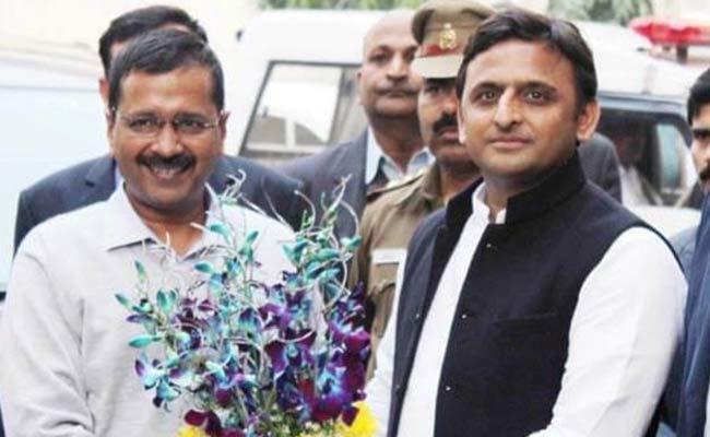 Akhilesh And Mayawati Supports To Arvind Kejriwal In Delhi - Sakshi