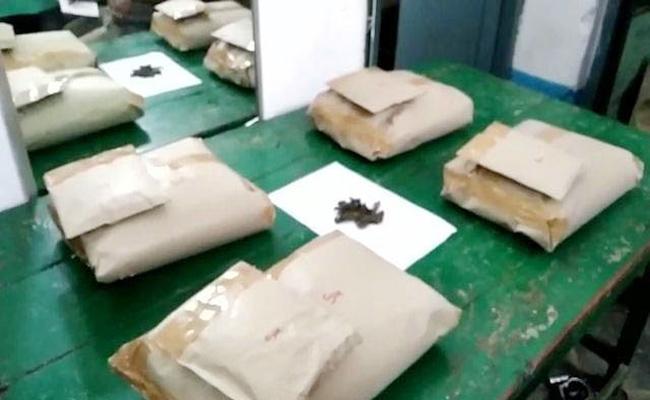 Marijuana Smuggling Gang Arrest in Hyderabad - Sakshi