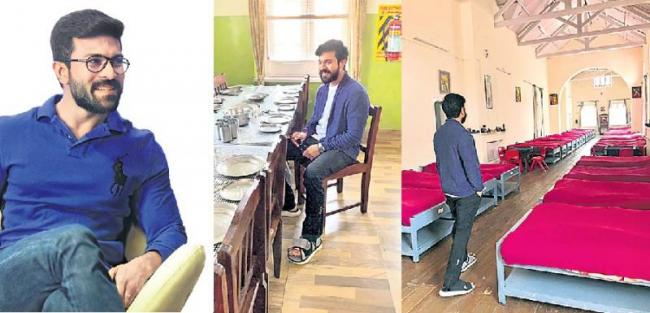 Ram Charan Visits His School In Tamilnadu - Sakshi