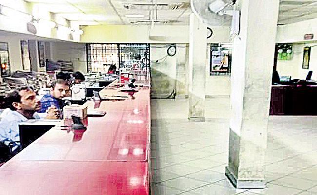 Public Service Break Down in RTA Hyderabad - Sakshi