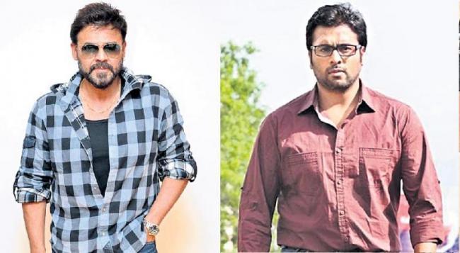 Venkatesh and Nara Rohit in Vikram Vedha Telugu remake - Sakshi