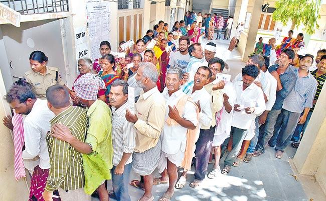Telangana Parishad Elections First Phase Polling Completed - Sakshi