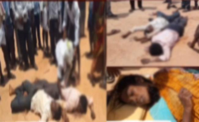 Four Family Members Committed Suicide Attempt In Anantapur - Sakshi