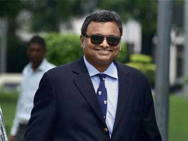 deposit Rs 10 crore, then go abroad, supreme court tells Karti Chidambaram  - Sakshi