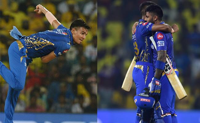 IPL 2019 Mumbai Beat CSK By 6 Wickets To Seal Final Berth - Sakshi