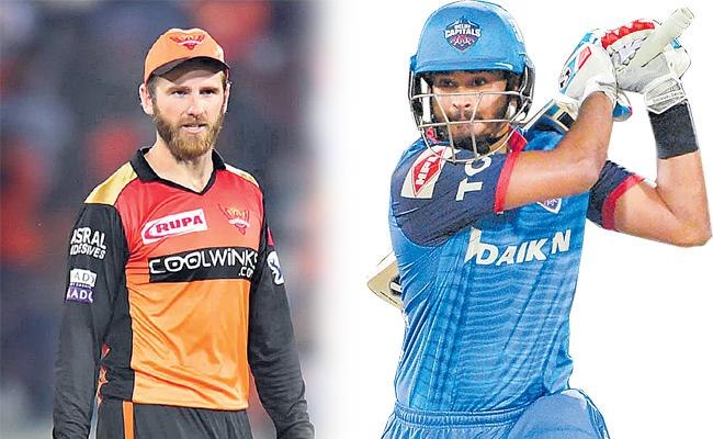 Sunrisers Hyderabad faced 2nd playoff with delhi capitals - Sakshi