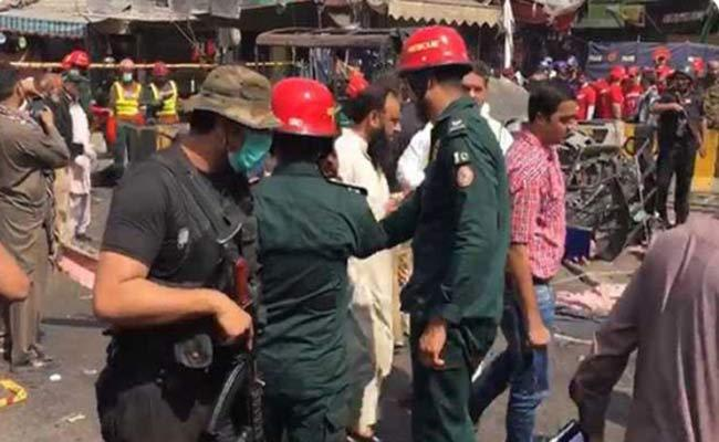 Three police officials martyred in Lahore blast  - Sakshi