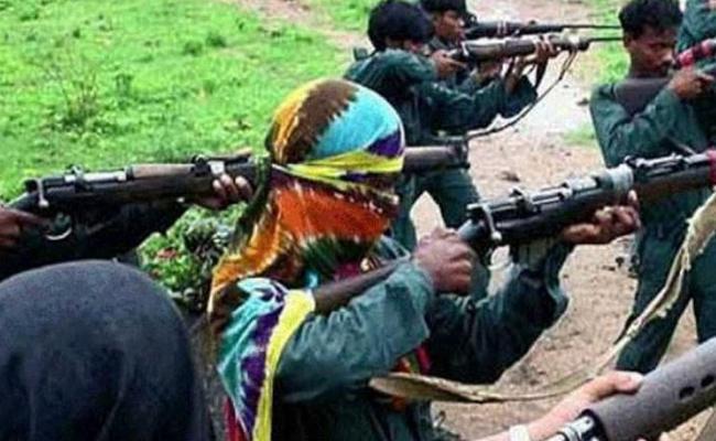 2 Maoists Killed in Encounter Near Dantewada - Sakshi