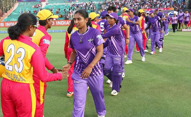 Womens T20 Challenge Velocity won by 3 Wickets Against Trailblazers - Sakshi