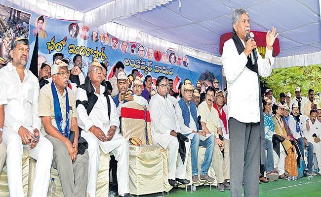 Manda Krishna Madiga Fires On KCR Over Ambedkar Statue Issue - Sakshi