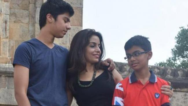 Delhi Mom Praises Son In Emotional Post For Scoring 60 Percent Marks - Sakshi