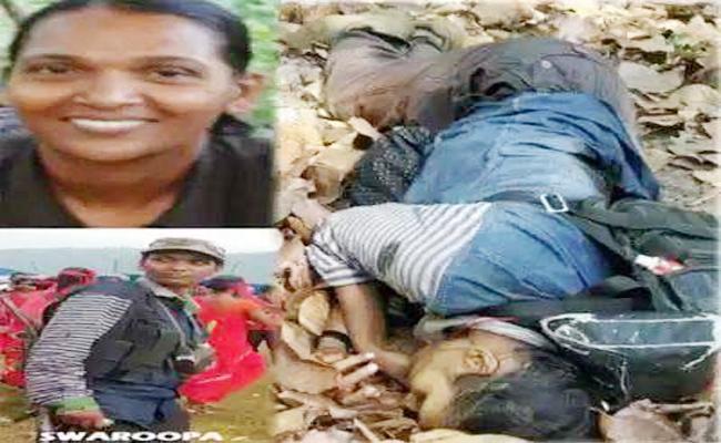 Maoist Kameswari Died in Police Fire - Sakshi