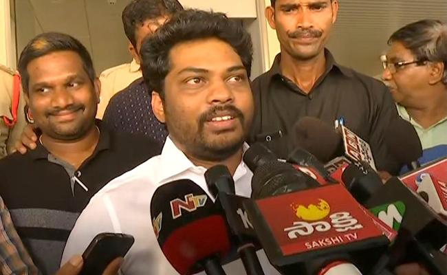 Kidari Sravan Kumar Resignation To His Ministry Post - Sakshi