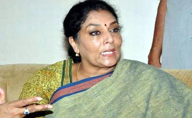 Congress Leader Renuka Chaudhary Fires On kcr Over Inter Board Issue - Sakshi