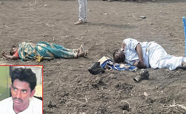 Son Killed Mother And Her Boyfriend in Kurnool - Sakshi