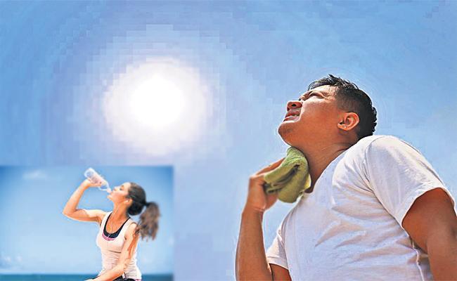 Hyderabad Summer temperature Rises - Sakshi