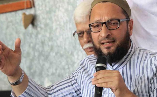 Asaduddin Owaisi Tells Muslims to BJP Return No Cause For Worry - Sakshi