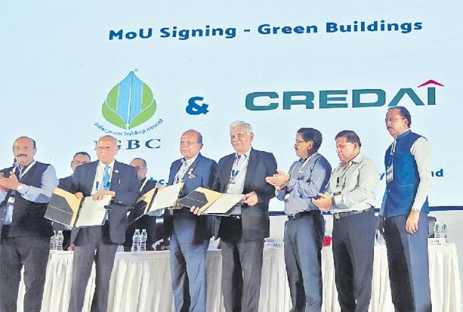 Credai to construct green building projects across five cities - Sakshi