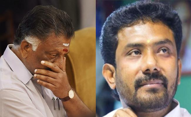 Panneerselvam Disturbed Over Not Giving Central Ministry To His Son - Sakshi