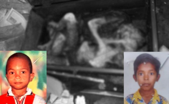 Missing Boys Found Dead in Wood Box at East Godavari - Sakshi