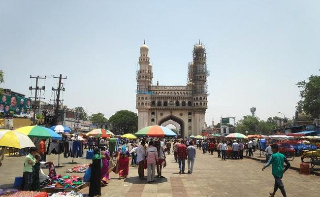 GHMC Survey on Footpath Construction in Hyderabad - Sakshi