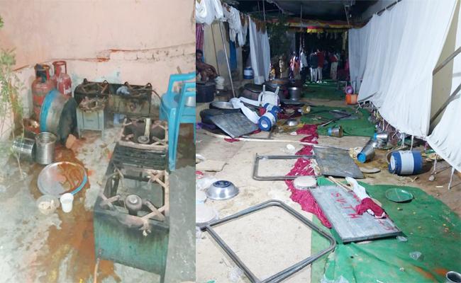 Conflicts in Wedding DJ Sound Hyderabad - Sakshi
