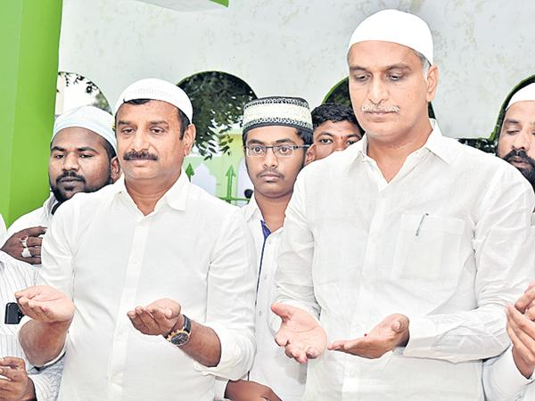 Harish Rao Comments On Minority welfare - Sakshi