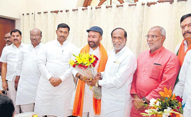 We Will Develop The Party In Telangana Also Said By BJP Telangana Chief K Laxman - Sakshi