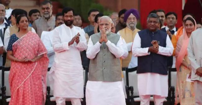 narendra modi new cabinet ministers 2019 - Sakshi