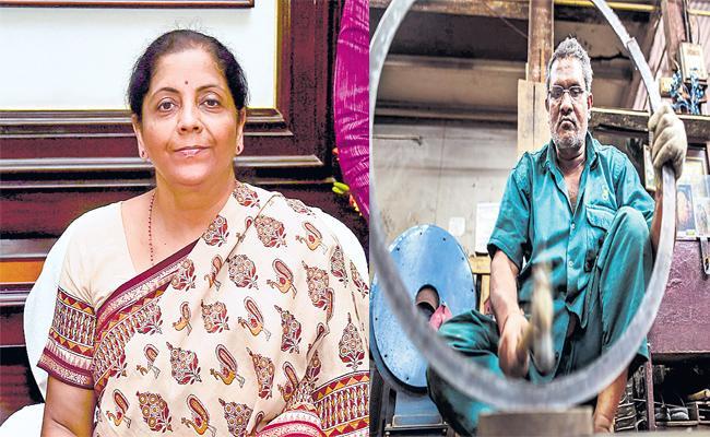 Financial Task to Nirmala Sitharaman - Sakshi