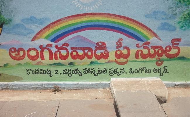 TDP Delayed Pre Schools in Prakasam - Sakshi